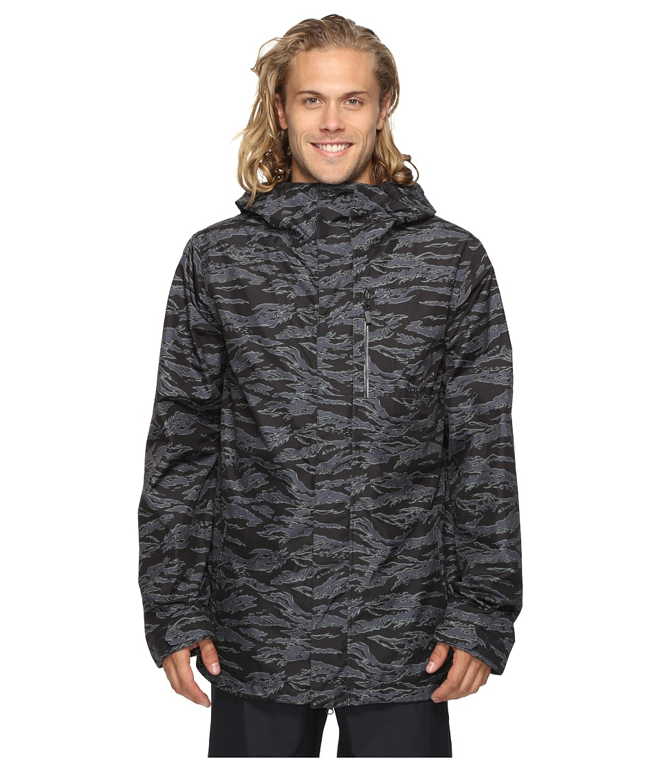 Volcom Snow - L Gore-Tex Jacket (Camouflage) Men's Coat