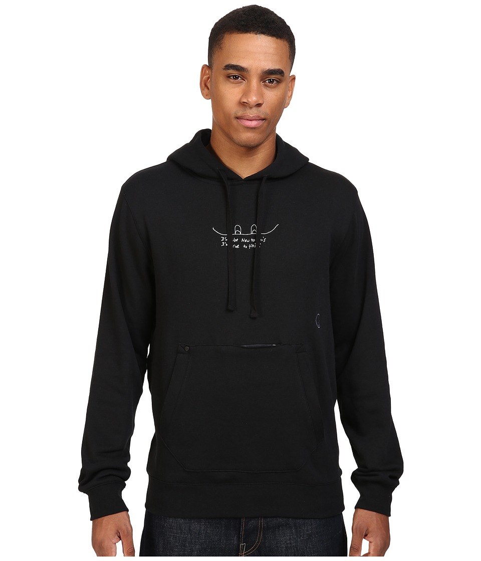 Volcom Snow - JLA Pullover Fleece (Black) Men's Fleece
