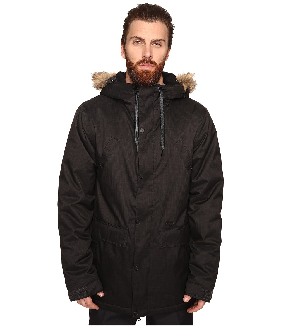 Volcom Snow - Midtown Insulated Jacket (Black) Men's Coat