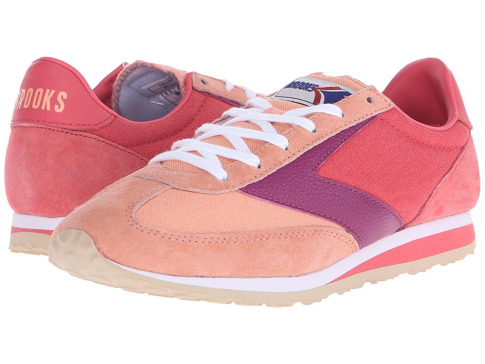 Brooks Heritage - Vanguard (Canteloupe/Rose of Sharon/Boysenberry) Women's Shoes