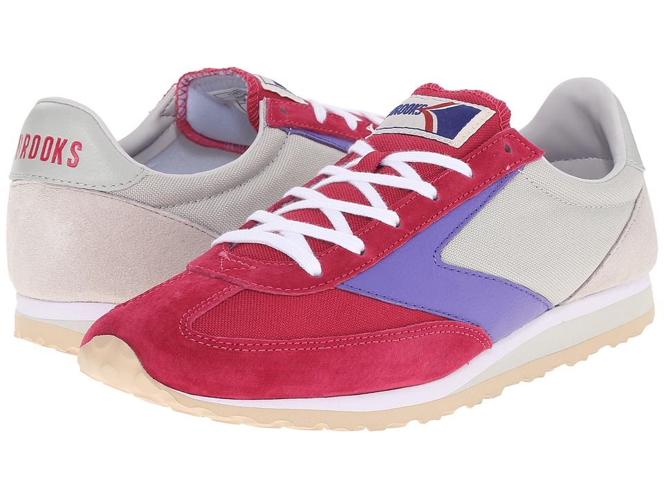 Brooks Heritage - Vanguard (Cerise/Glacier Grey/Blue Iris) Women's Shoes