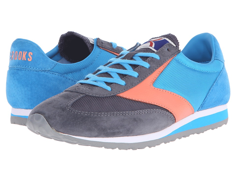 Brooks Heritage - Vanguard (Dresden Blue/Anthracite/Fresh Salmon) Women's Shoes