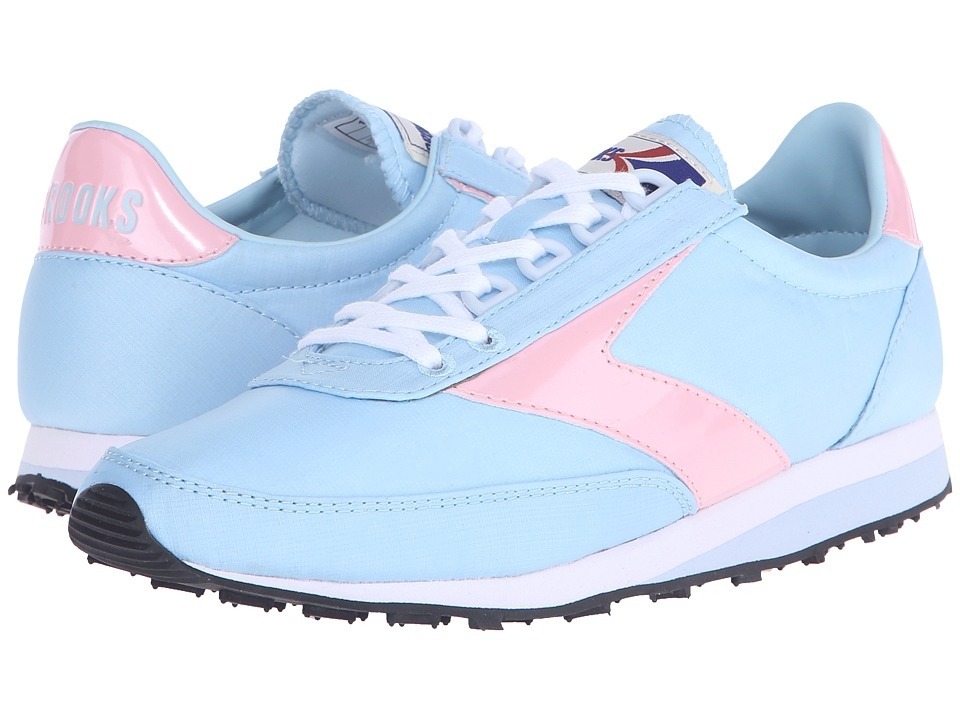 Brooks Heritage - Vantage (Baby Blue/Almond Blossom/White) Women's Shoes
