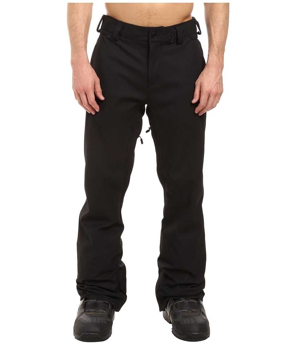 Volcom Snow - Freakin Snow Chino Pants (Black) Men's Casual Pants