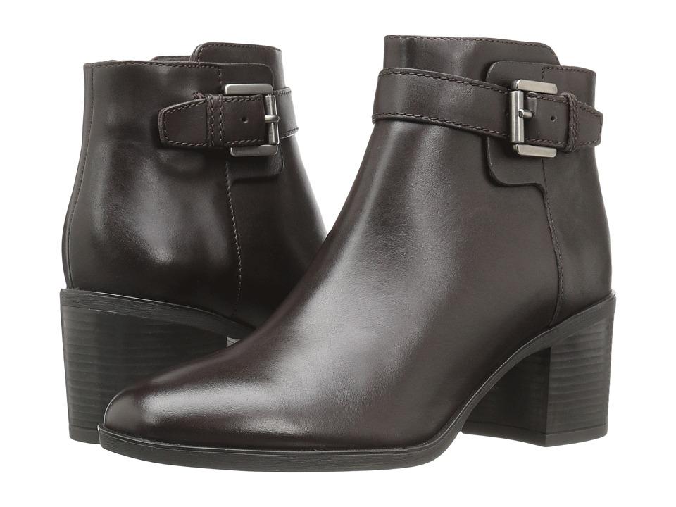 Geox - WGLYNNA1 (Coffee) Women's Shoes