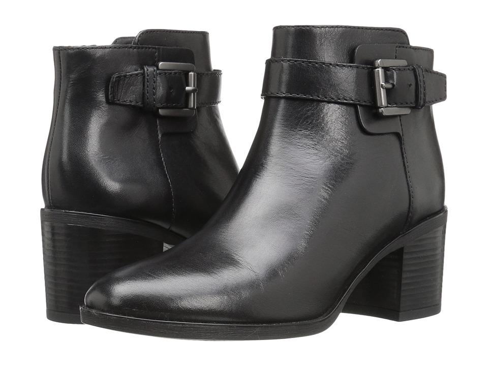 Geox - WGLYNNA1 (Black) Women's Shoes