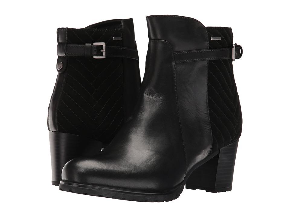 Geox - WLISEABX14 (Black) Women's Shoes
