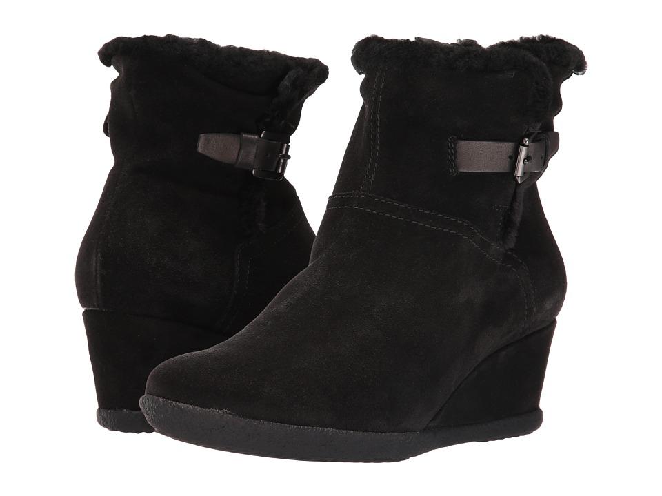 Geox - WAMELIAST22 (Black) Women's Shoes