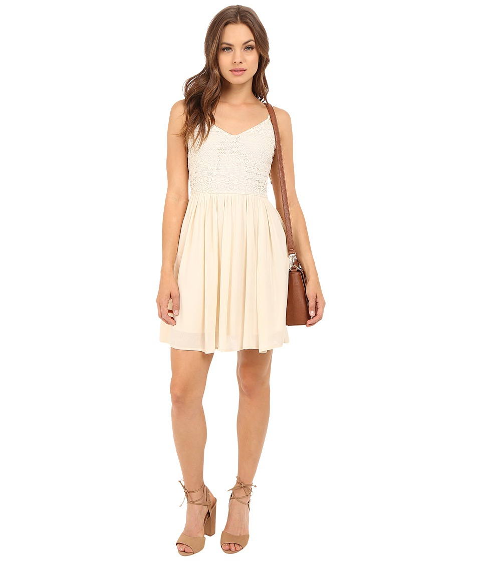 ONLY - Addy Heaven Strap Dress (Whitecap Gray) Women's Dress
