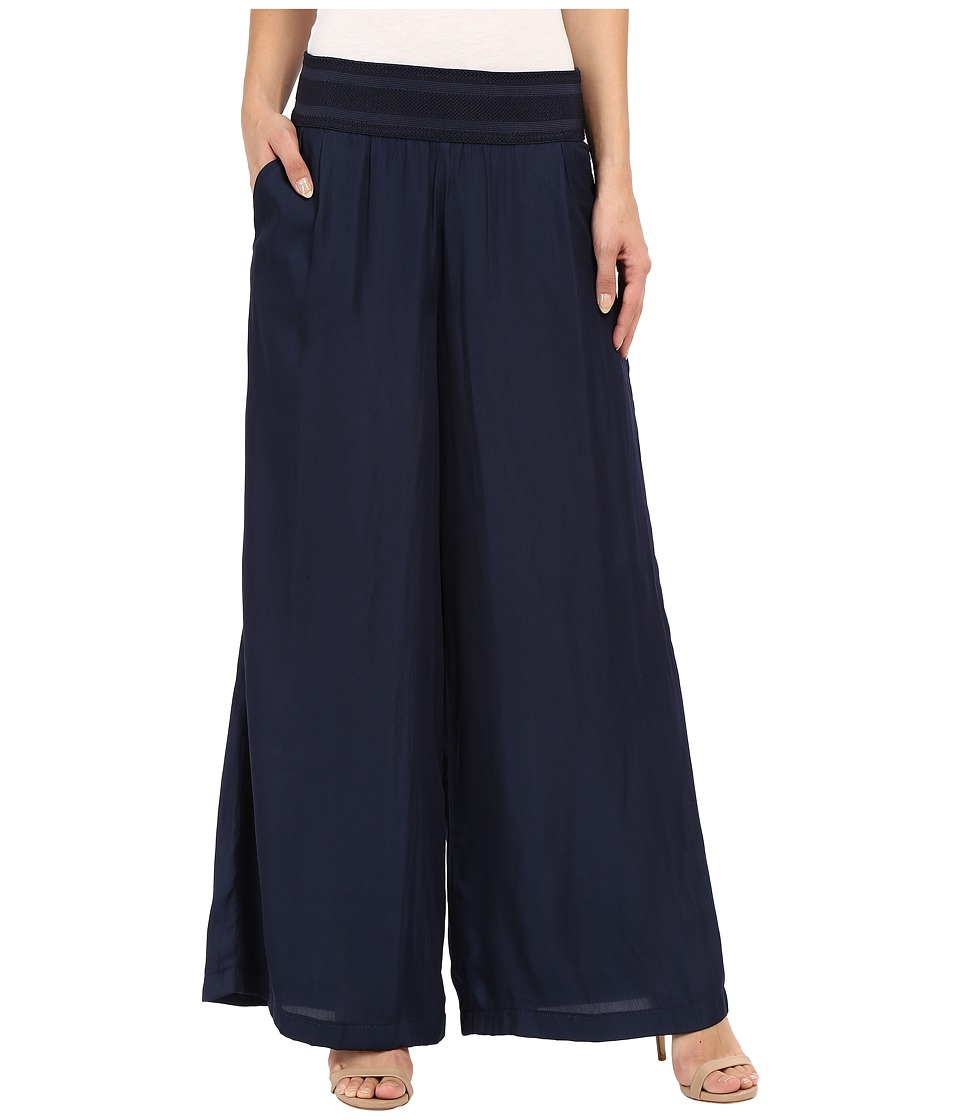 ONLY - Alex Wide String Pants (Night Sky) Women's Casual Pants