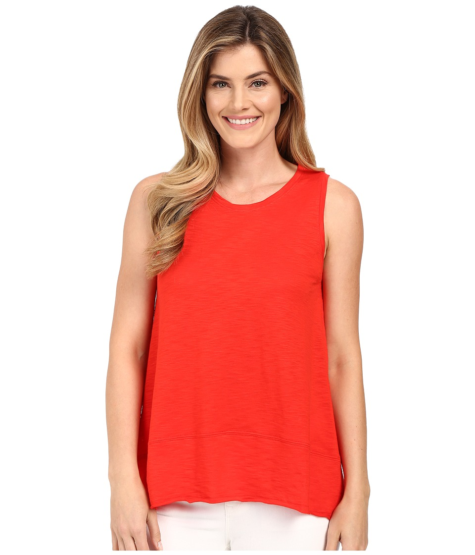 Lilla P - Pima Modal Slub Sleeveless Shell (Poppy) Women's Sleeveless