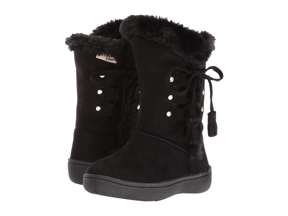 Western Chief Kids - Aviana (Toddler/Little Kid) (Black) Girls Shoes