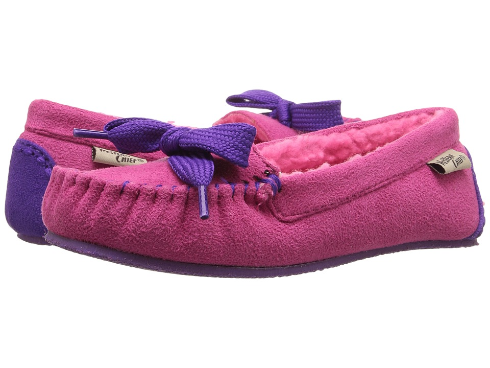 Western Chief Kids - Cozie (Toddler/Little Kid) (Fuchsia) Girls Shoes