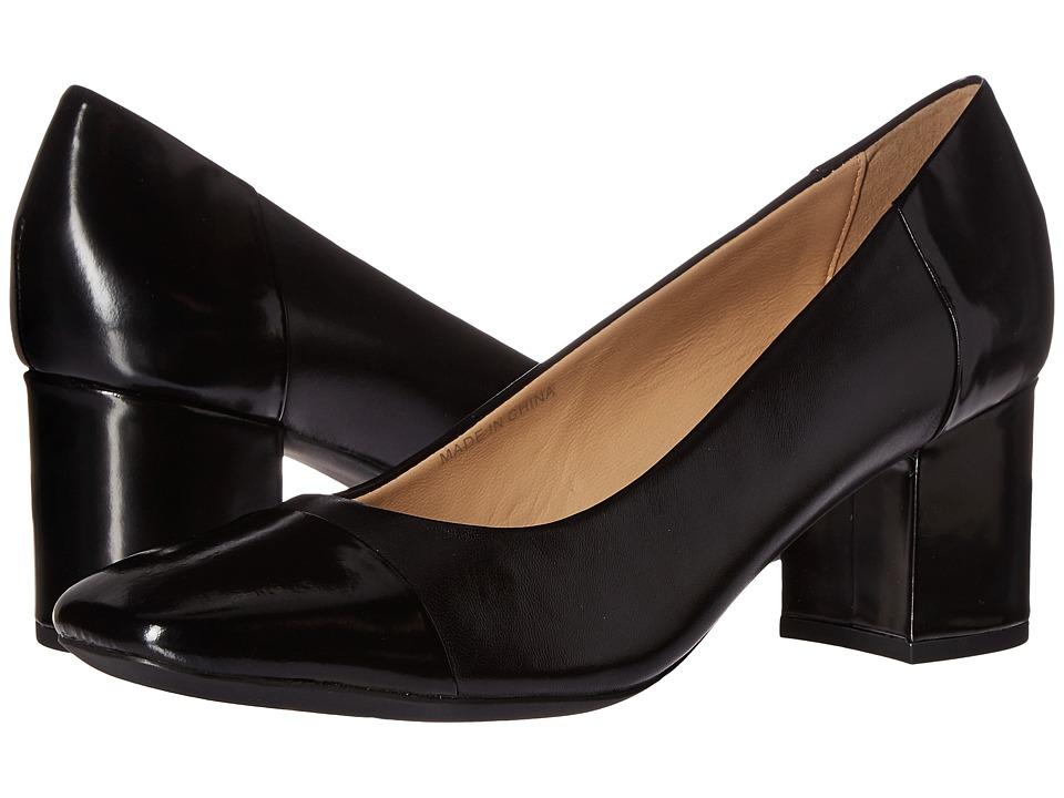 Geox - WNEWSYMPHONYMID2 (Black) Women's Shoes