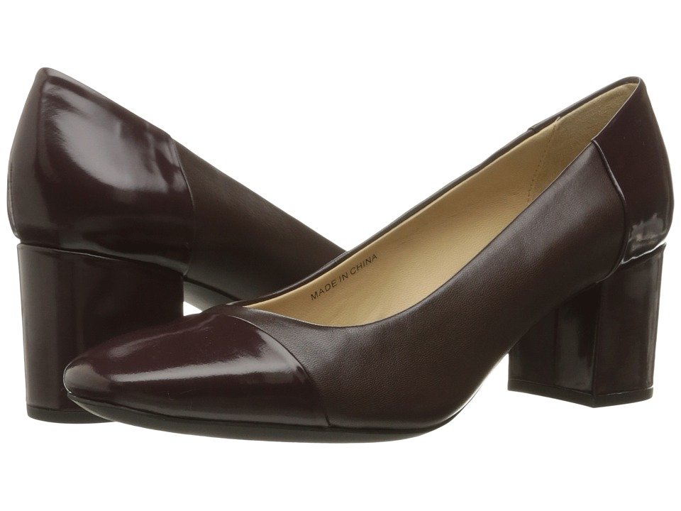 Geox - WNEWSYMPHONYMID2 (Dark Burgundy) Women's Shoes