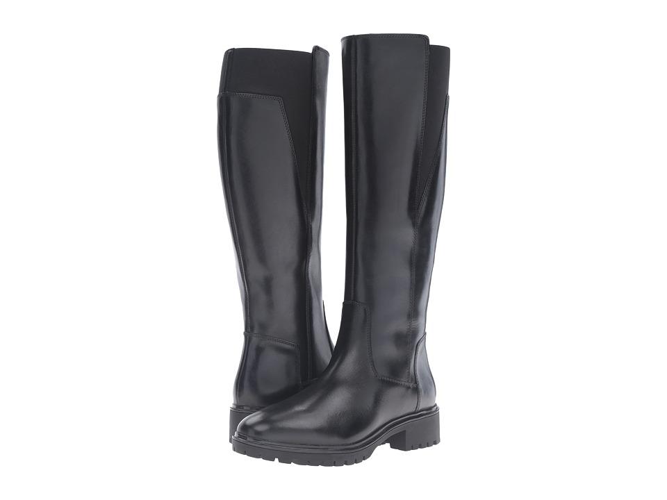 Geox - WPEACEFUL4 (Black) Women's Shoes