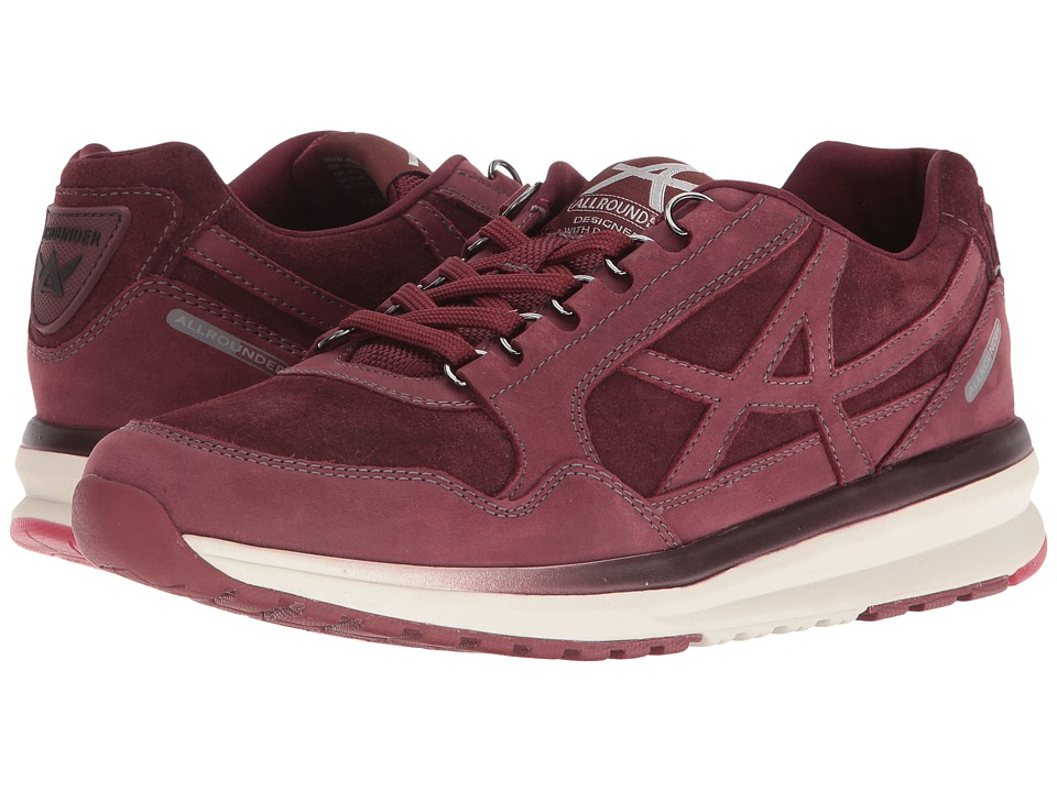Allrounder by Mephisto - Kalibra (Wine G Nubuck/Suede) Women's Lace up casual Shoes