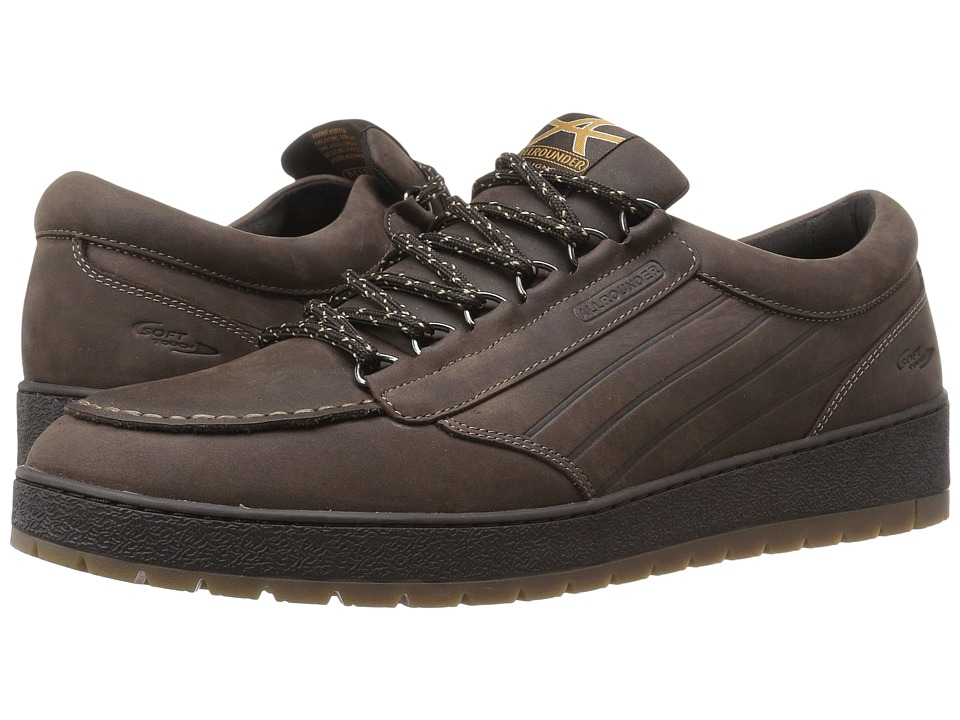Allrounder by Mephisto - Alinto (Dark Brown Waxy N) Men's Lace up casual Shoes