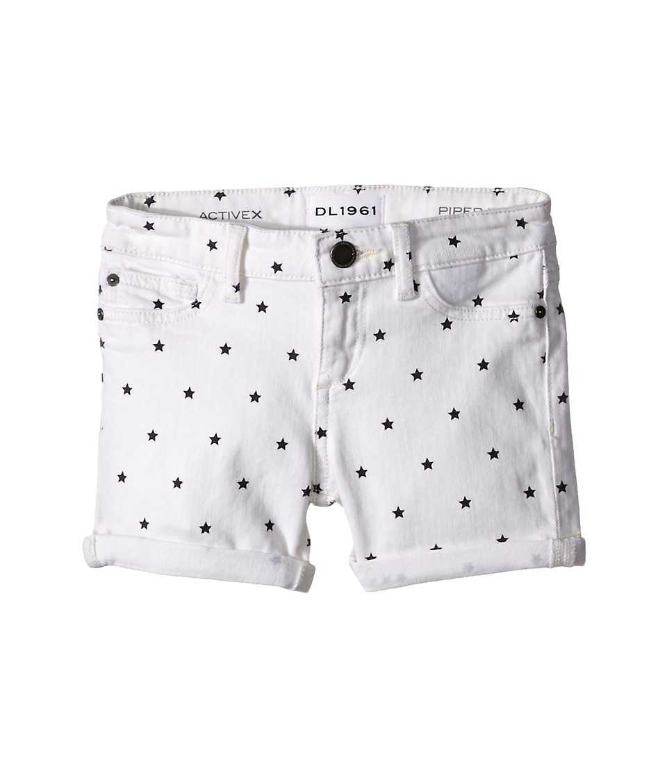 DL1961 Kids - Piper Cuffed Shorts in Starburst (Toddler/Little Kids) (Starburst) Girl's Shorts
