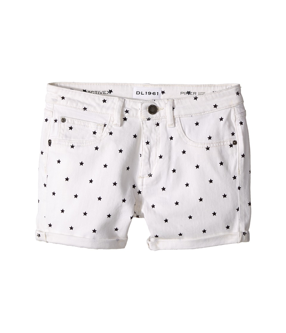 DL1961 Kids - Piper Cuffed Shorts in Starburst (Big Kids) (Starburst) Girl's Shorts