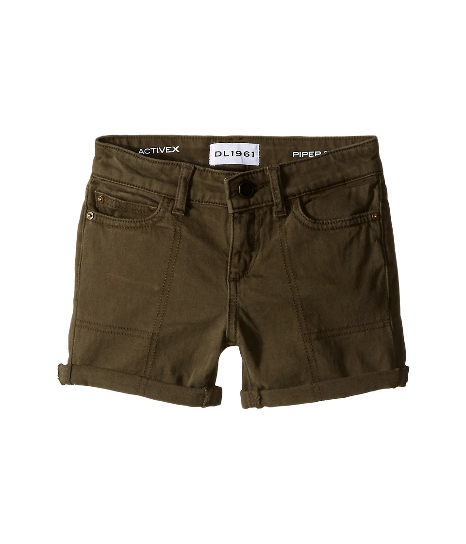 DL1961 Kids - Piper Cuffed Shorts in Ranchers (Toddler/Little Kids) (Ranchers) Girl's Shorts
