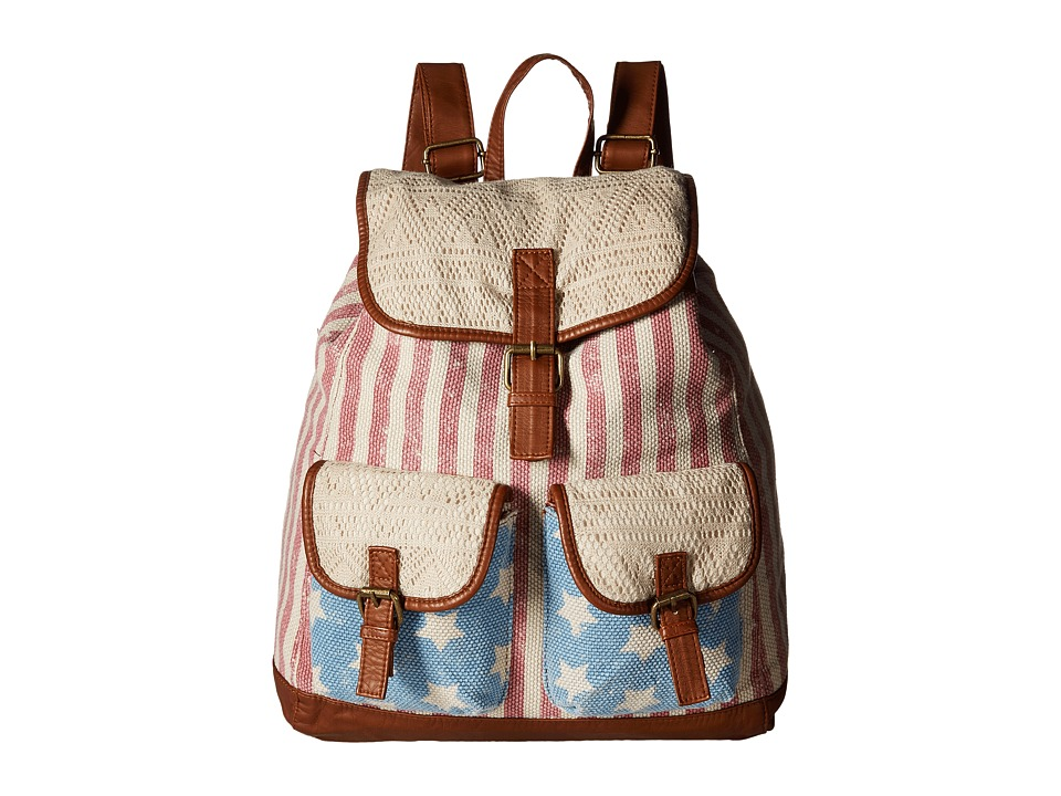Gabriella Rocha - Americana Backpack with Pockets (Camel) Backpack Bags