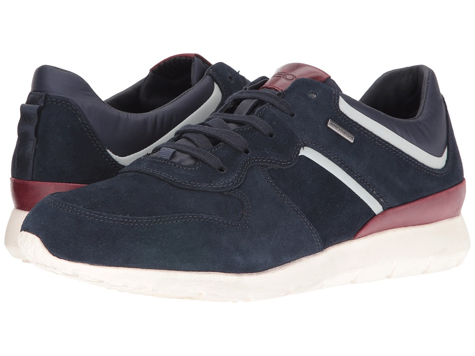 Geox - MGEKTORBABX4 (Navy/Dark Red) Men's Shoes