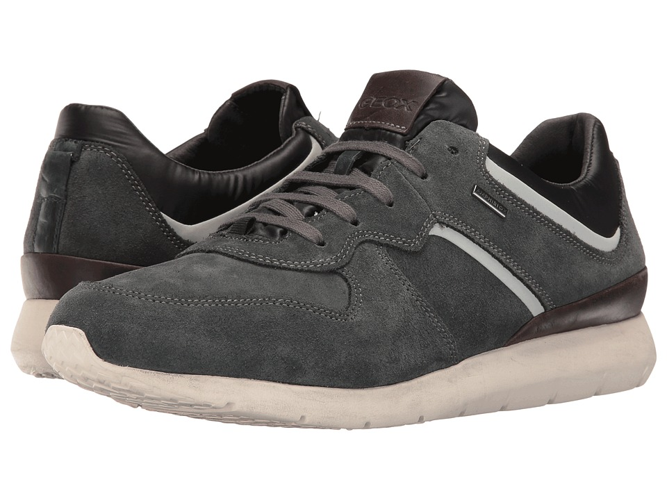 Geox MGEKTORBABX4 (Anthracite/Dark Brown) Men