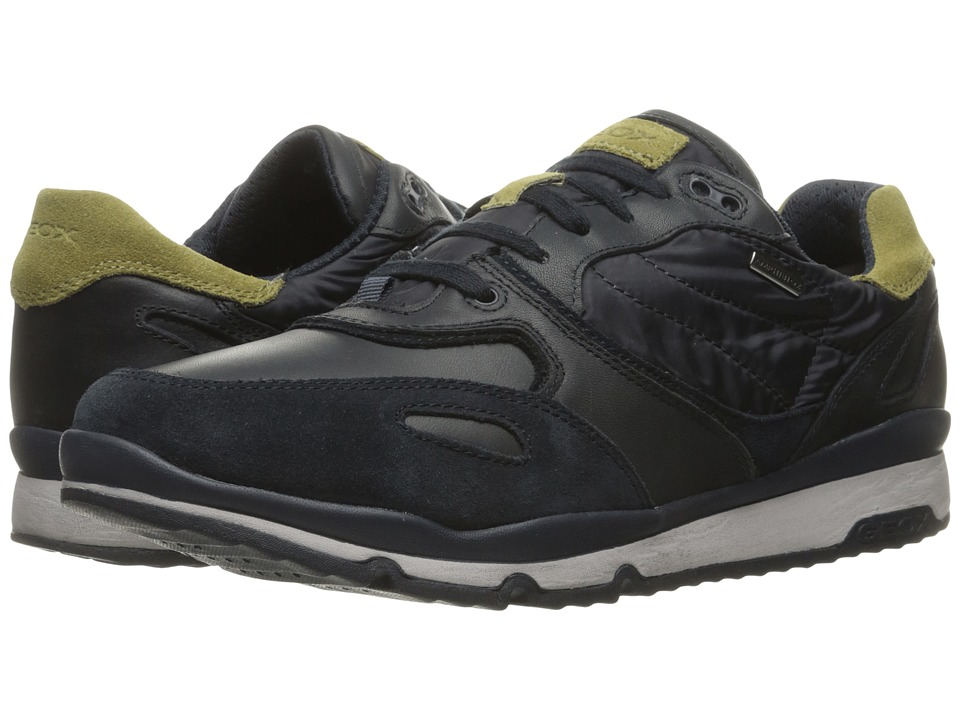 Geox - MSANDROBABX1 (Navy/Pistachio) Men's Shoes