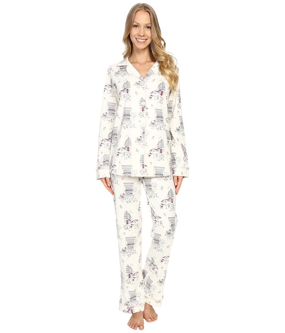 BedHead - Long Sleeve Classic PJ Set (Hello Kitty Cafe) Women's Pajama Sets