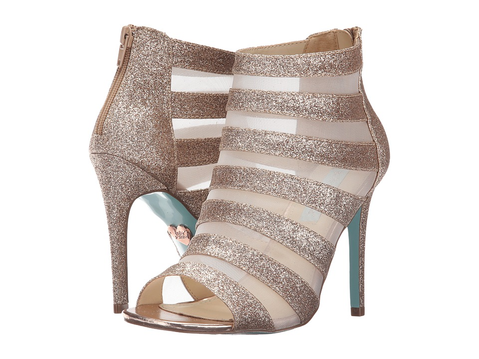 Blue by Betsey Johnson - Alix (Champagne Glitter) High Heels