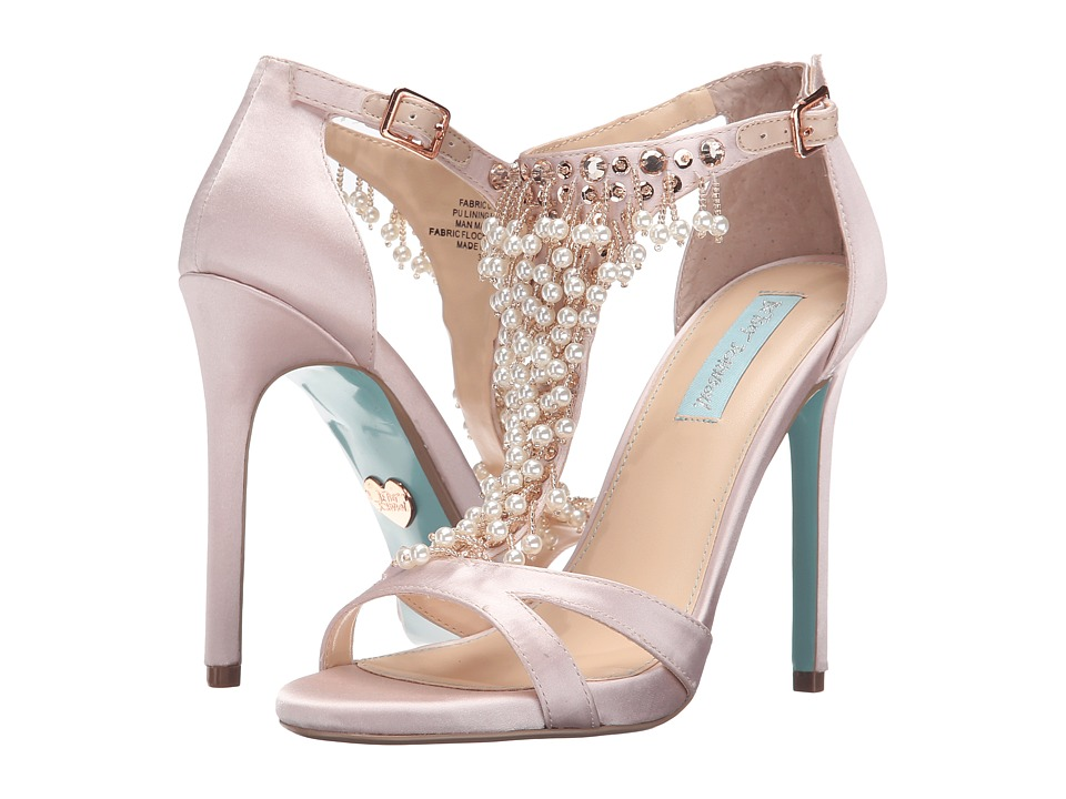 Blue by Betsey Johnson Mavyn (Blush Satin) High Heels