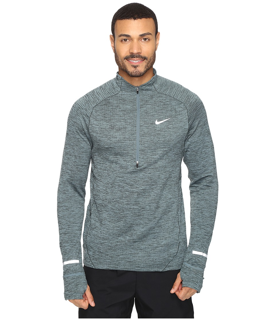 Nike - Element Sphere Half-Zip (Hasta/Heather/Seaweed/Reflective Silver) Men's Long Sleeve Pullover