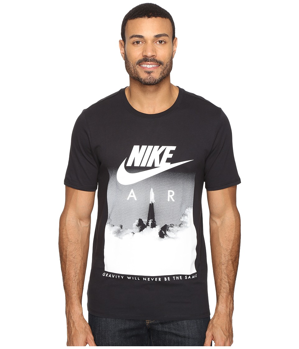 Nike Air Rocket Tee (Black/Black/White) Men