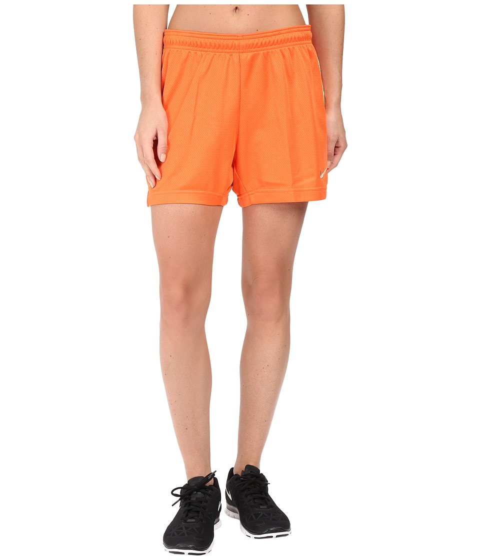 Nike - Dri-FIT Academy Knit Shorts (Turf Orange/Peach Cream/Peach Cream) Women's Shorts