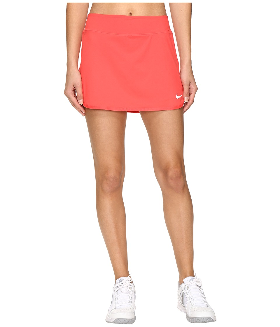 Nike - Pure Skirt (Ember Glow/White) Women's Skort