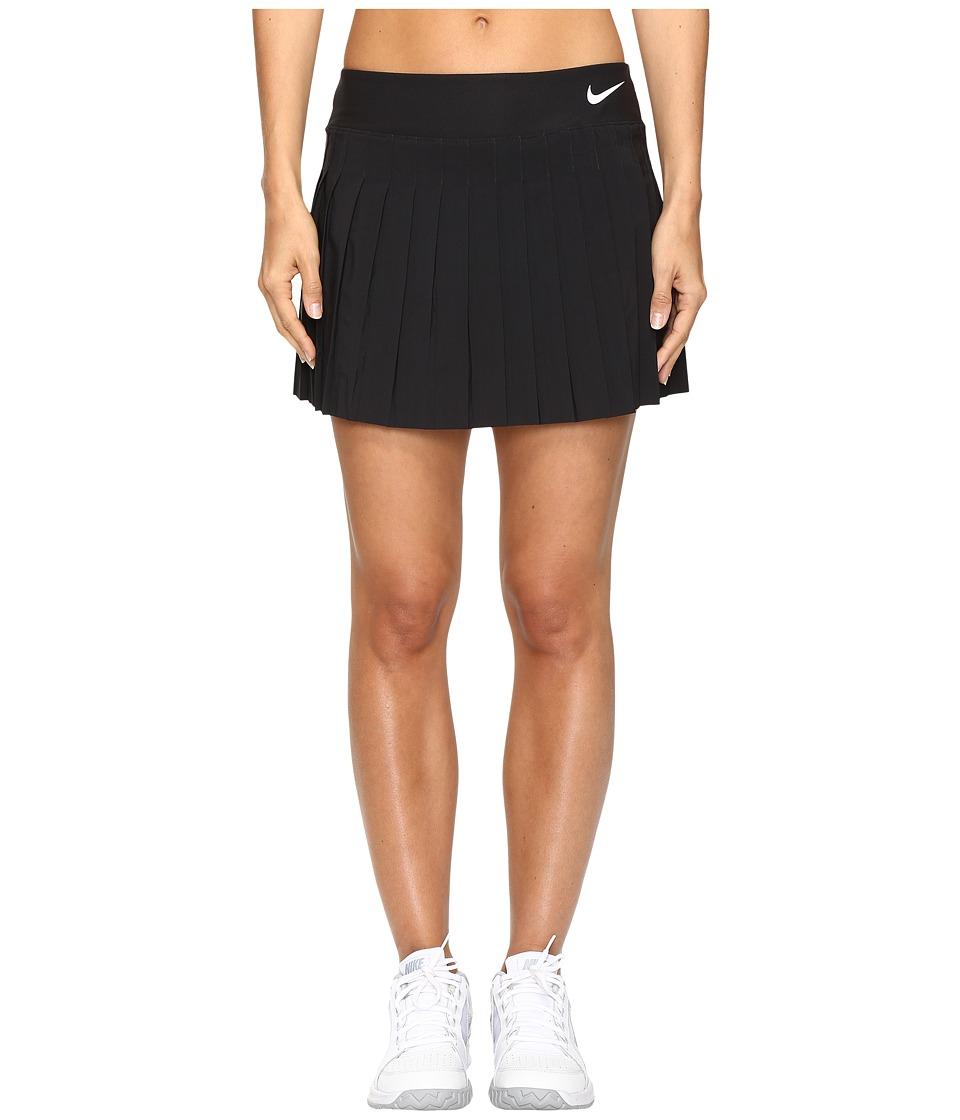 Nike Victory Skirt (Black/Black/Black/White) Women
