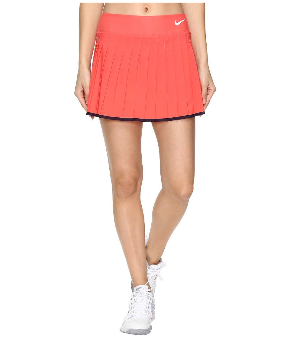 Nike - Victory Skirt (Ember Glow/Purple Dynasty/White) Women's Skort
