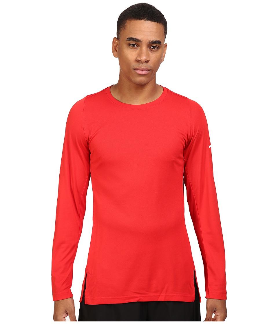 Nike - Crossover 2.0 Long Sleeve Top (University Red/University Red/White) Men's Sweatshirt