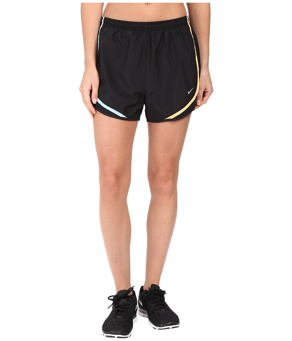 Nike - Tempo Short (Black/Urban Lilac/Wolf Grey) Women's Workout