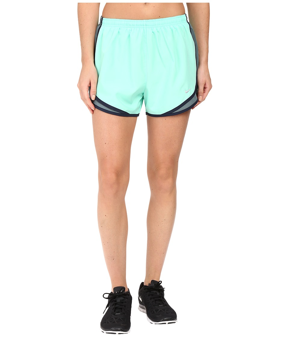 Nike - Tempo Short (Green Glow/Hasta/Obsidian/Wolf Grey) Women's Workout