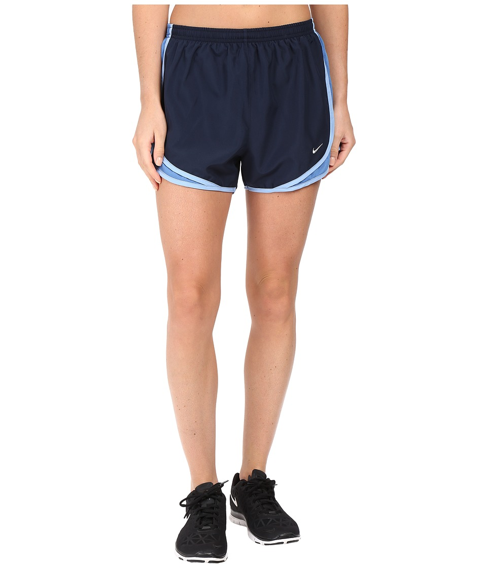 Nike - Tempo Short (Obsidian/Star Blue/Light Blue/Wolf Grey) Women's Workout