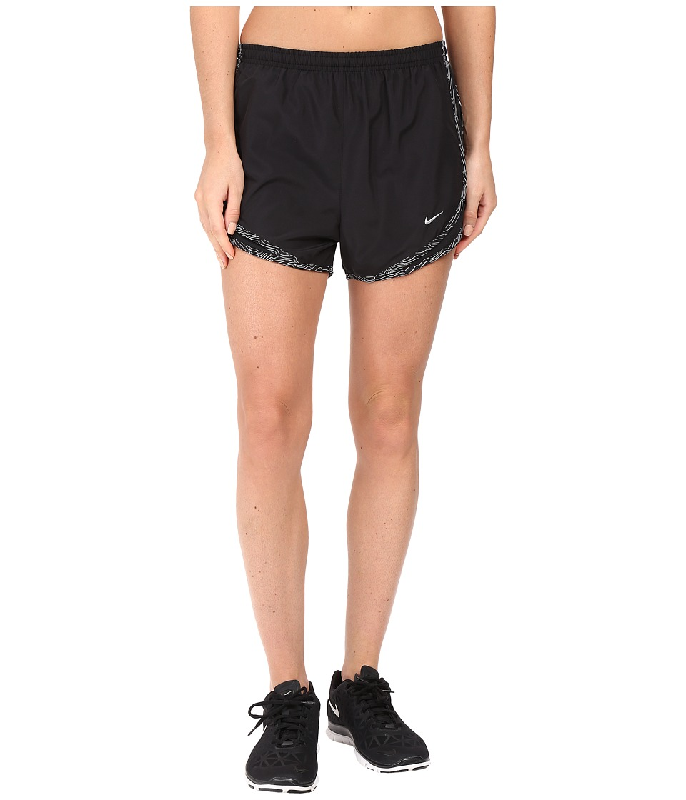 Nike - Tempo Short (Black/Dark Grey/Wolf Grey/Wolf Grey) Women's Workout