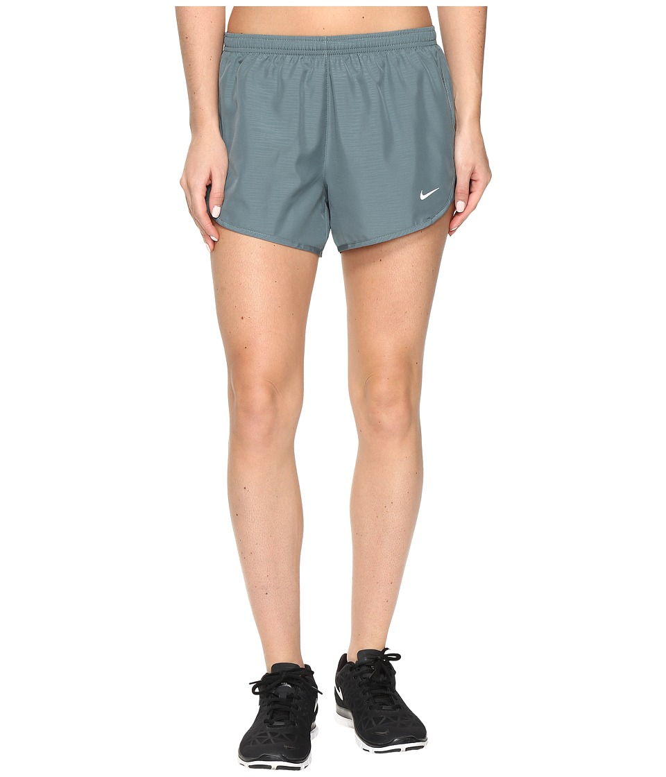Nike - 3 Tempo Modern Embossed Running Short (Hasta/Reflective Silver) Women's Shorts