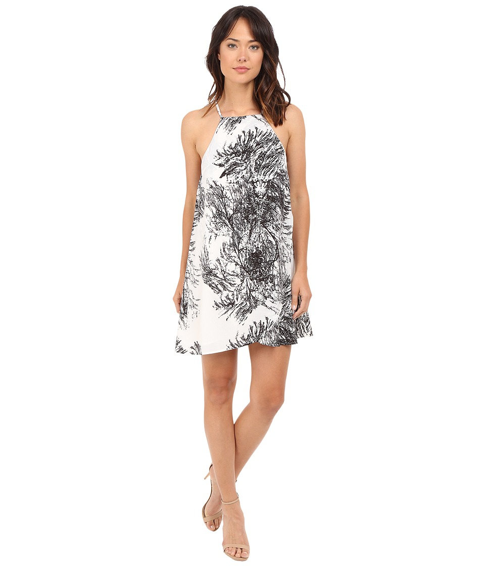 Brigitte Bailey - Brinsley Spaghetti Strap Dress (Black/Ivory) Women's Dress