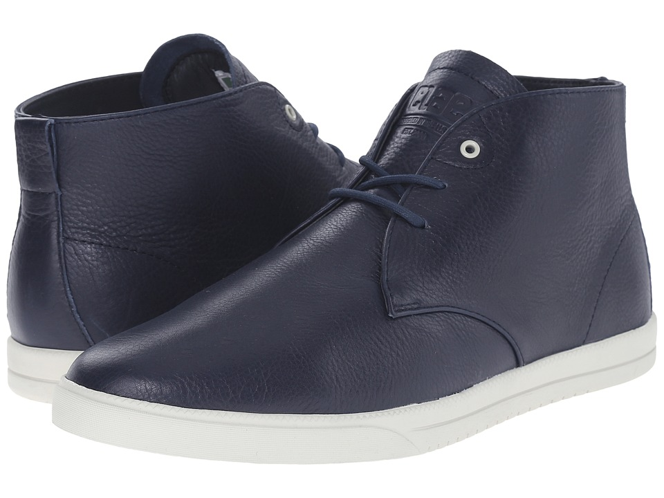 Clae - Strayhorn (Navy Leather) Men's Shoes