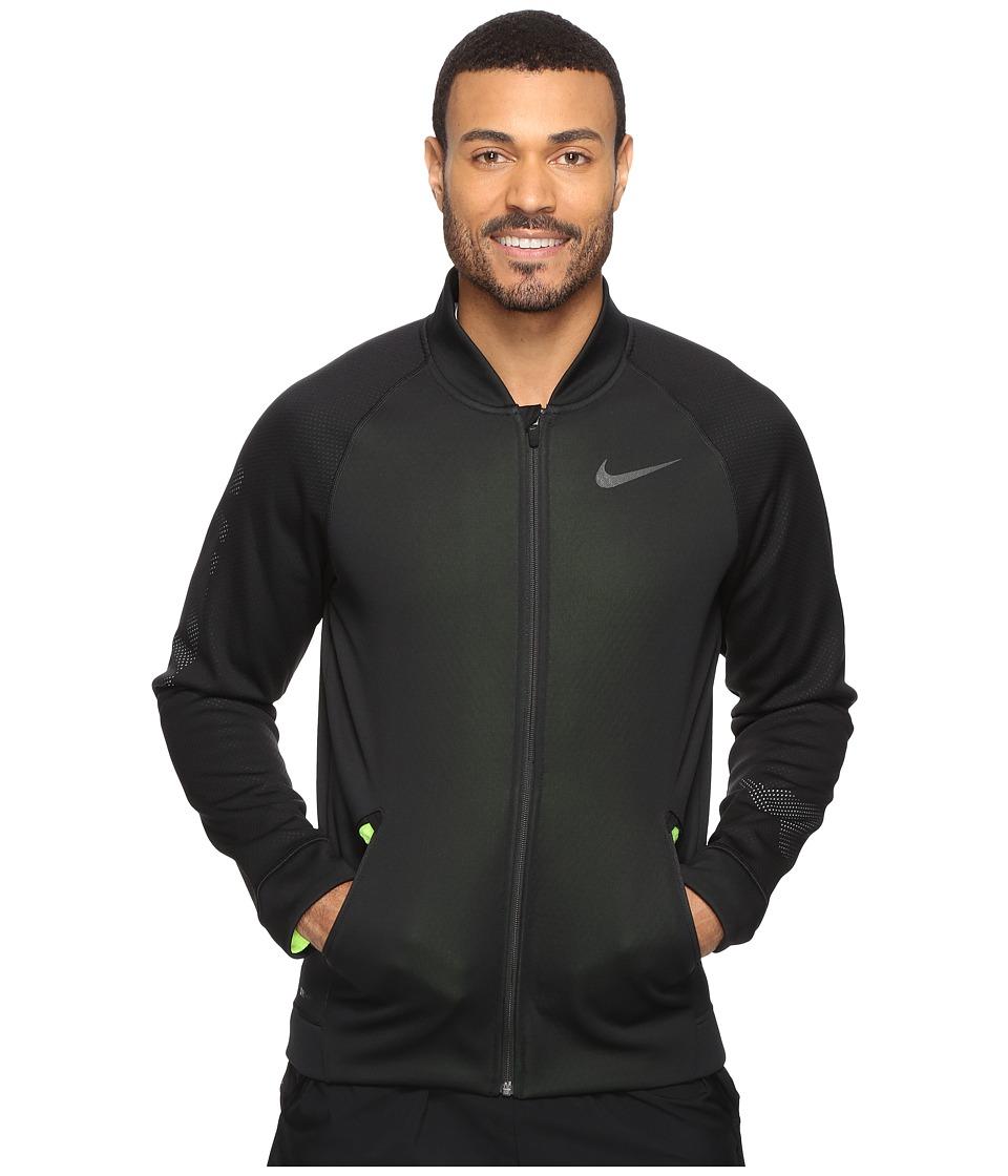 Nike - Therma Sphere Jacket (Black/Volt/Pure Platinum/Black) Men's Coat