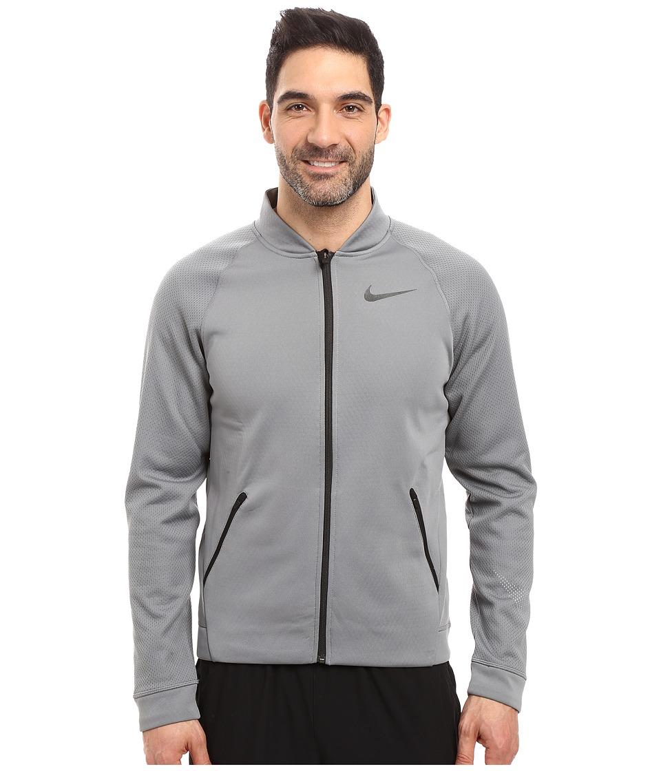 Nike - Therma Sphere Jacket (Cool Grey/Total Orange/White/Black) Men's Coat