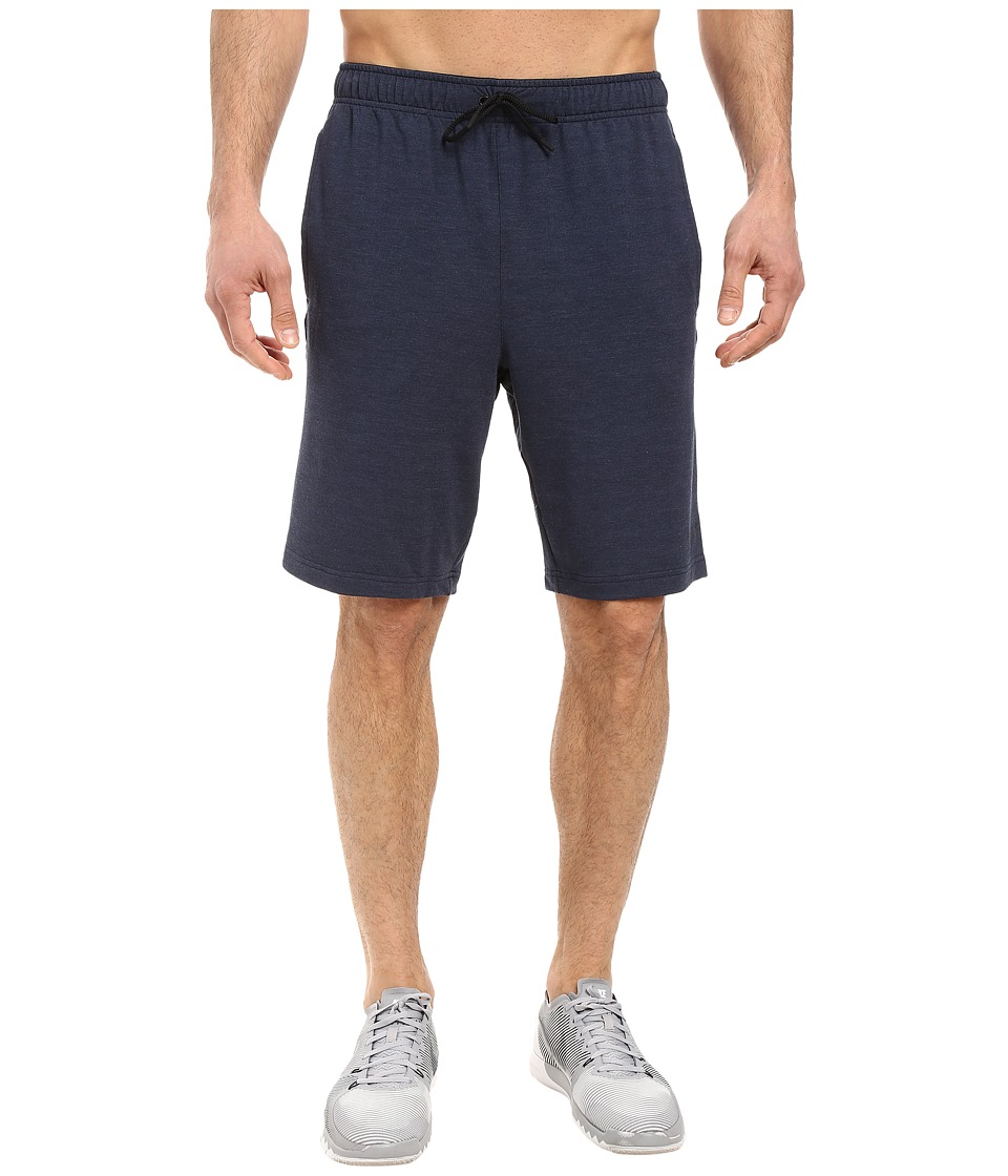 Nike - Dri-FIT Fleece Training 8 Short (Obsidian/Black) Men's Shorts