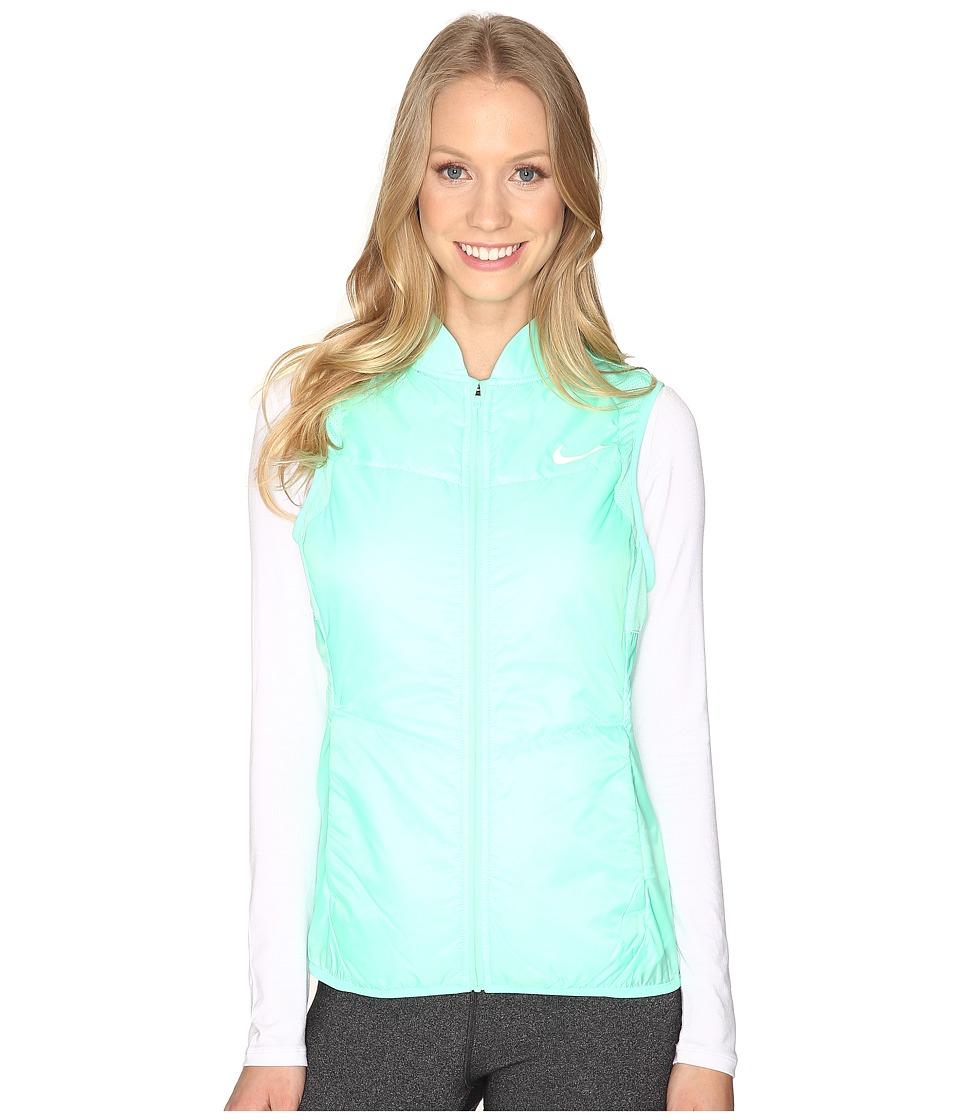 Nike - Polyfill Vest (Green Glow/Green Glow/Reflective Silver) Women's Vest